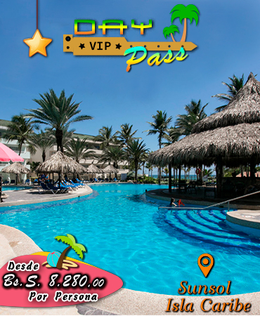 Day Pass en Sunsol Isla Caribe