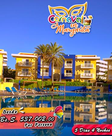 Carnavales en la Isla de Margarita